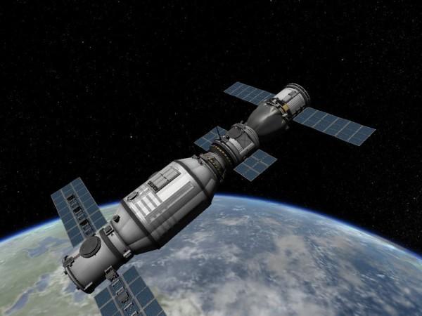 Космическую лабораторию «Тяньгун-2» вывели на высоту 393 км над Землей