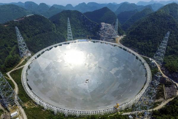 Все возможности самого крупного в мире телескопа Fast могут быть реализованы спустя годы