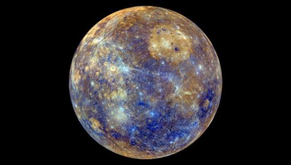 """Астрономы: Недра Меркурия являются """"живыми"""" с точки зрения геологии"""