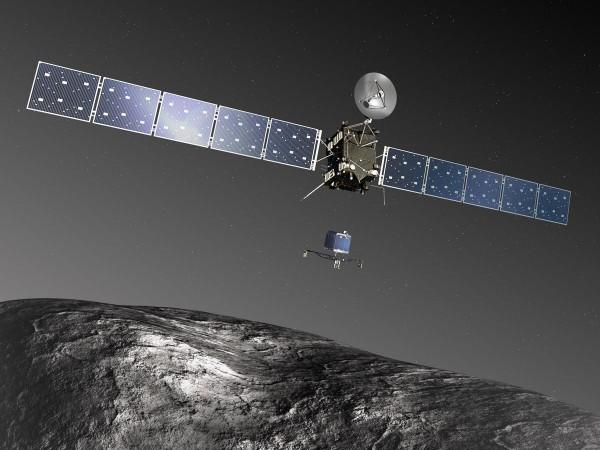 Космический аппарат Rosetta уничтожен