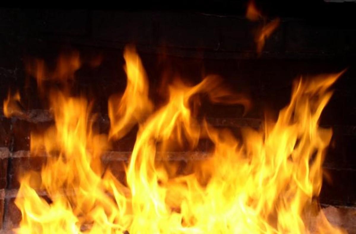 ВПрикамье пожарные спасли изгорящего дома 2-х маленьких девушек