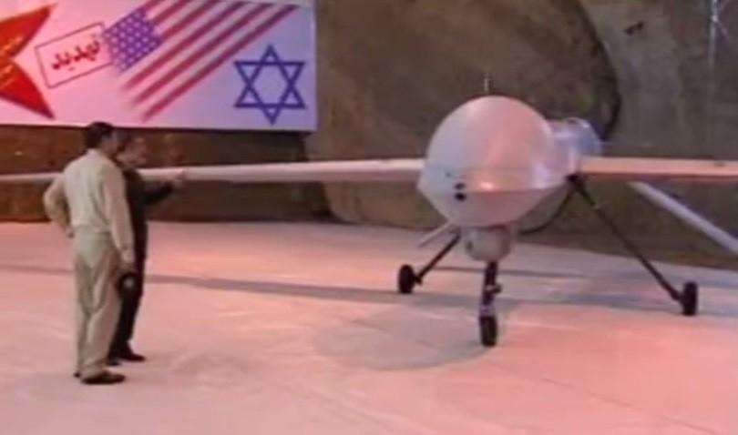 КСИР продемонстрировал новый беспилотник, сделанный пообразцу американского