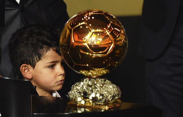Сын Криштиану Роналду забил гол вдебютном матче