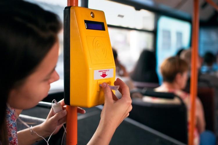 Проезд вБарнауле можно будет оплатить брелоком либо часами