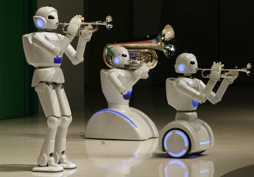 Компания Тойота создала робота за400 долларов