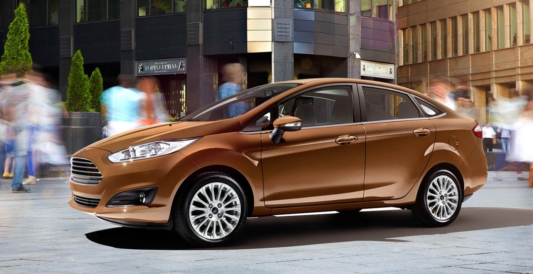 В России подорожала модель Ford Fiesta