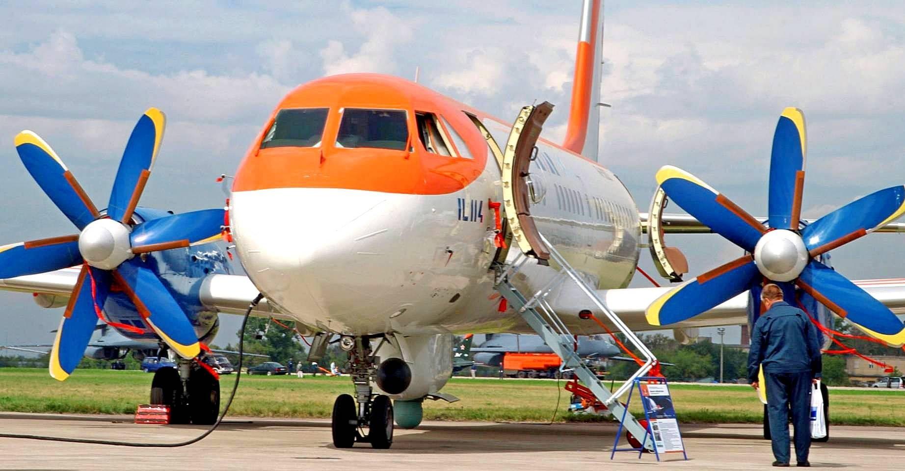 1-ый навсе 100% русский Ил-114 поднимется ввоздух в 2019-ом году
