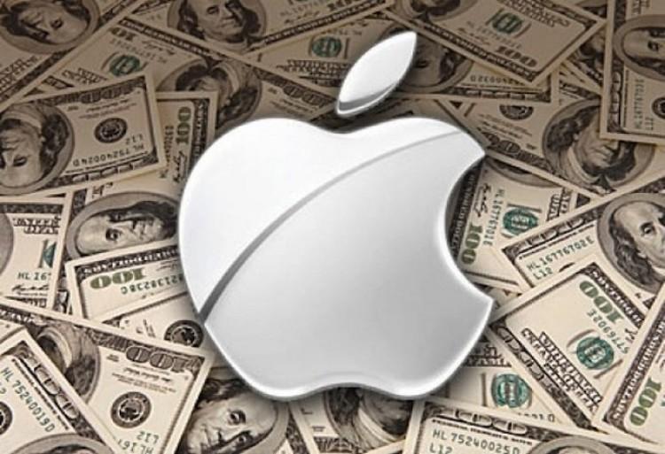 Может быть, Apple втекущем году удалось утаить отналогообложения $65 млрд