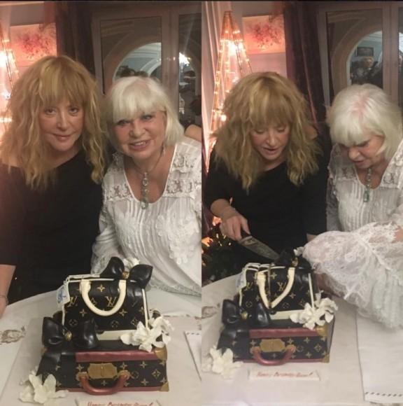 Пугачева поздравила подругу с днем рождения