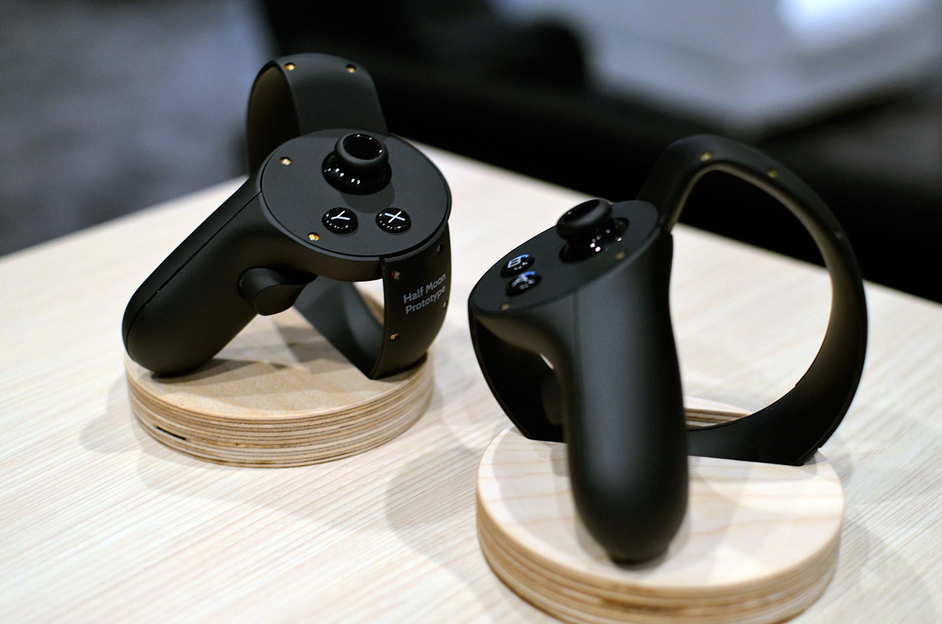 Oculus Touch появятся впродаже зимой