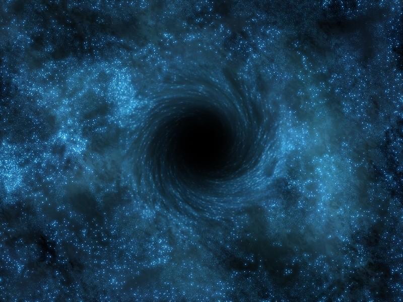 Ученые отыскали самую яркую блуждающую черную дыру