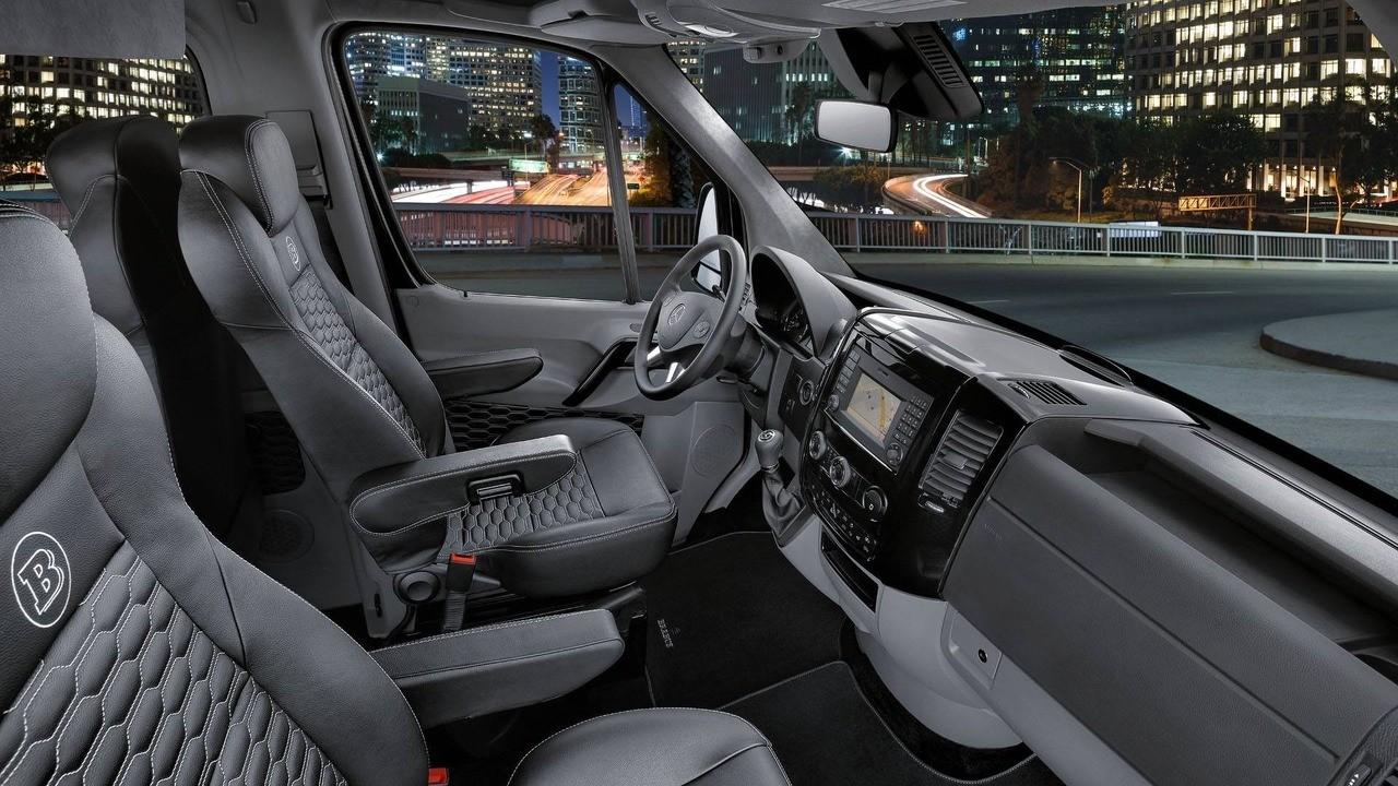 Mercedes Sprinter отBrabus оказался дороже чем Mercedes-Maybach S600