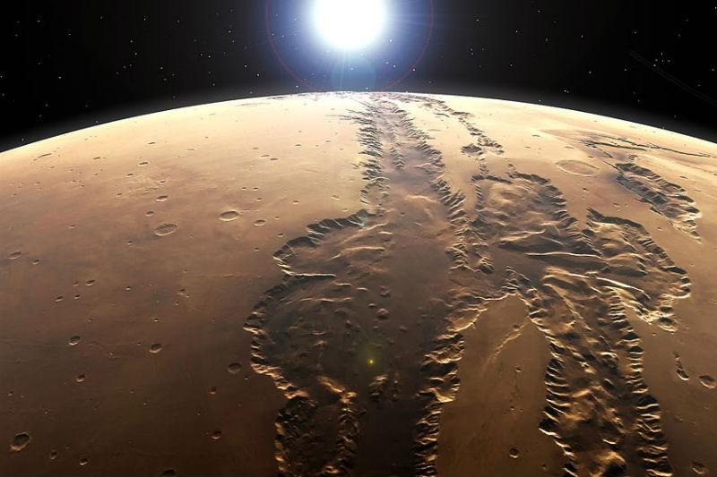 США отправят человека наМарс в 2030-ом - Обама