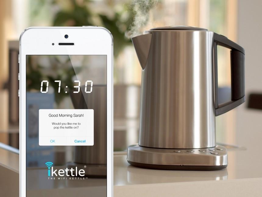 Британец потратил 11 часов на кипячение воды в Wi-Fi-чайнике