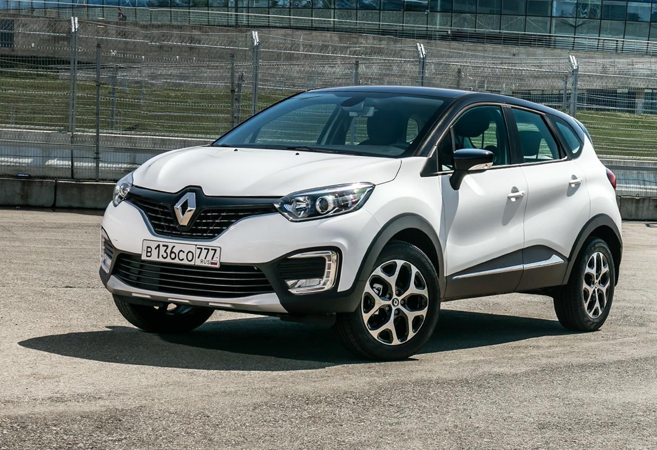 Продажи кроссовера Renault Kaptur неуклонно растут