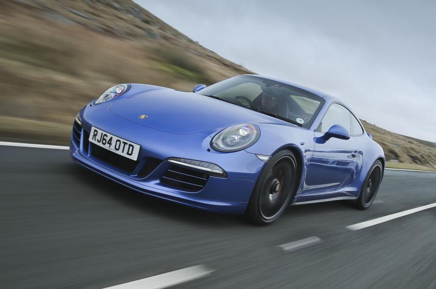 Порш начали тестировать новый GTS 911
