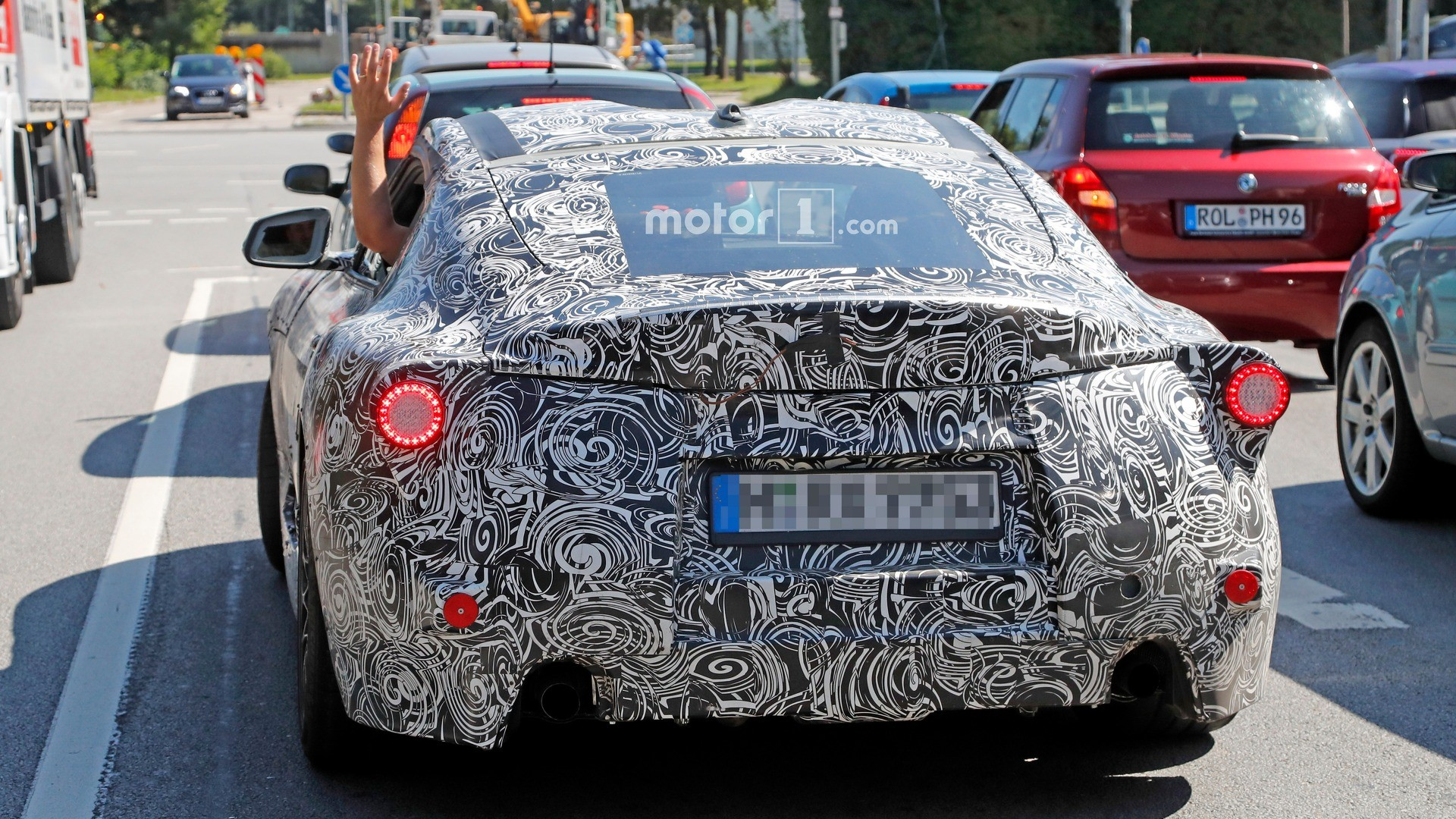 Тойота Supra сгибридной силовой установкой вдохновила насоздание нового гоночного автомобиля