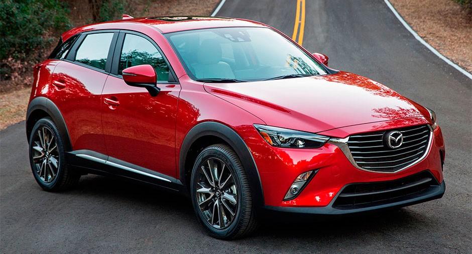 Mazda презентовала обновленные версии кроссовера CX-3 и хэтчбека Demio