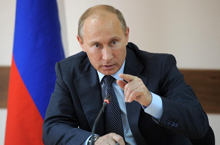 Президент Владимир Путин перед началом саммита БРИКС провел переговоры спремьер-министром Индии