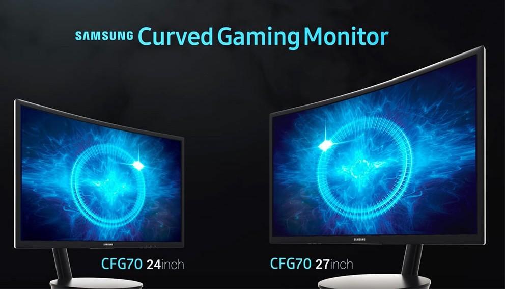 Самсунг  выпускает изогнутый геймерский монитор CFG70 наквантовых точках