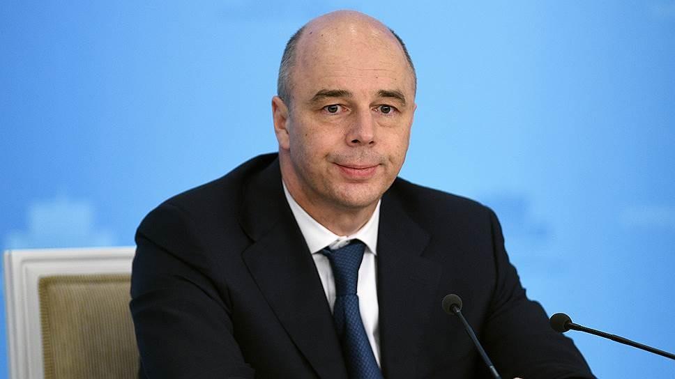 Министр финансов в этом году выплатит 800 млрд руб. покредитам Минобороны