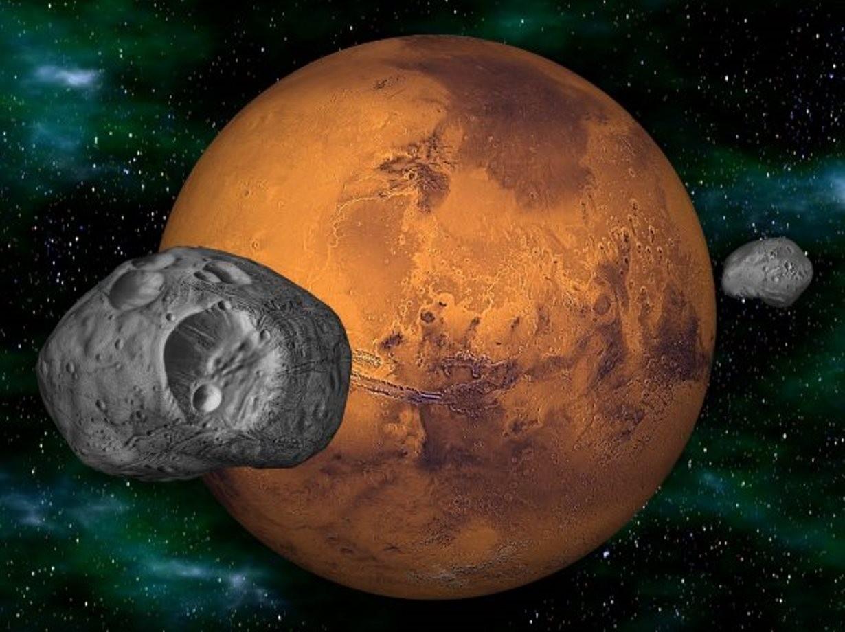 Таинственный монолит наповерхности спутника Марса