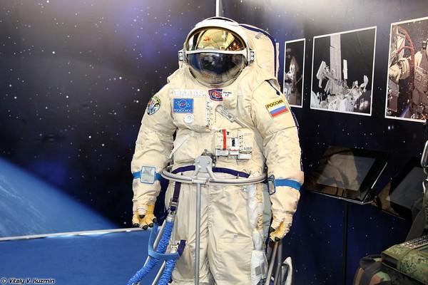 Русские космические скафандры обновленного поколения поступают вэксплуатацию
