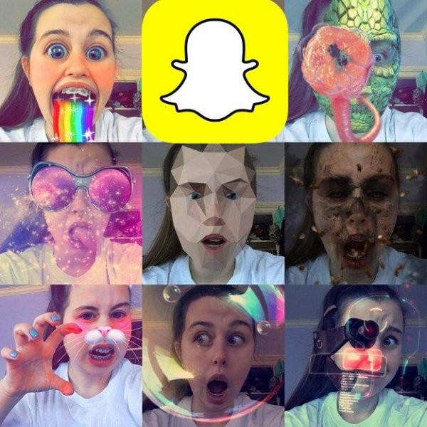 Snapchat обошёл социальная сеть Instagram и фейсбук попопулярности среди молодых людей