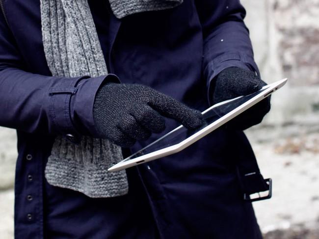 Японцы ввели вмоду котоперчатки для телефонов