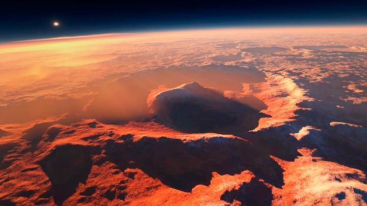 Жизнь наКрасной планете существовала, существует ибудет жить — Ученые