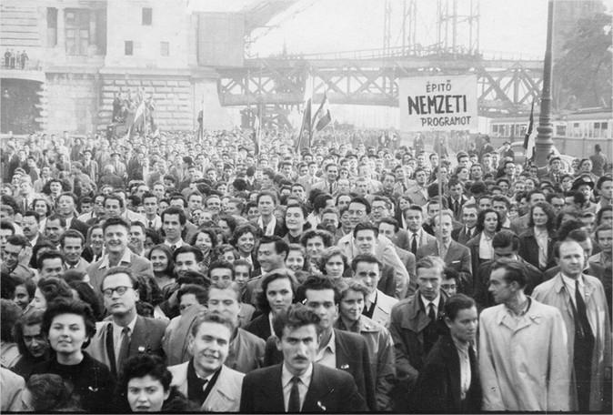 Каждый 2-ой житель россии ничего незнает особытиях вВенгрии 1956 года