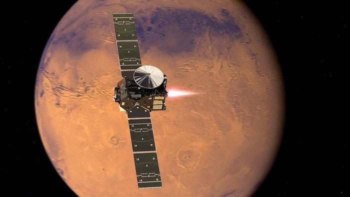 Модуль Schiaparelli совершил посадку наМарс