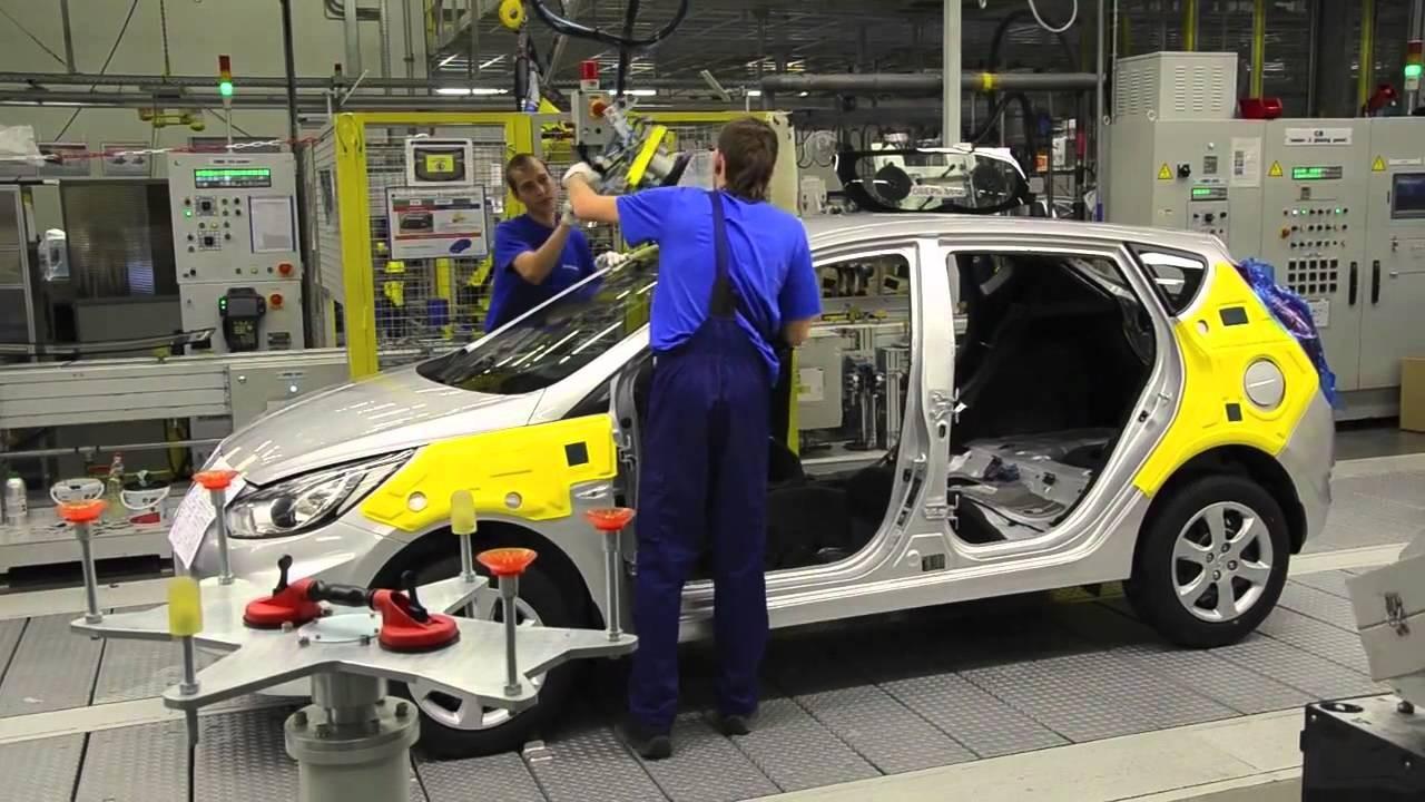 Производство легковушек вПетербурге за9 месяцев снизилось на9%