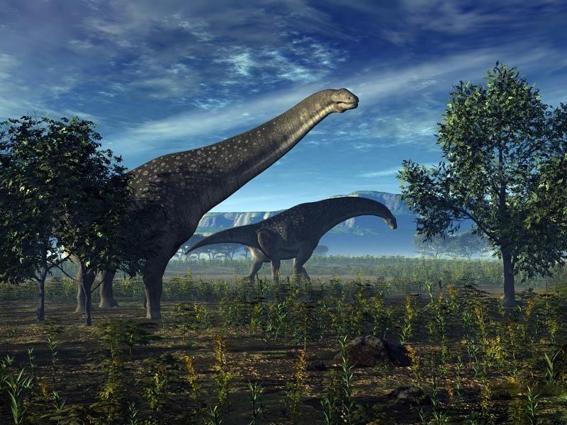 Ученые: титанозавры пришли вАвстралию через Антарктиду