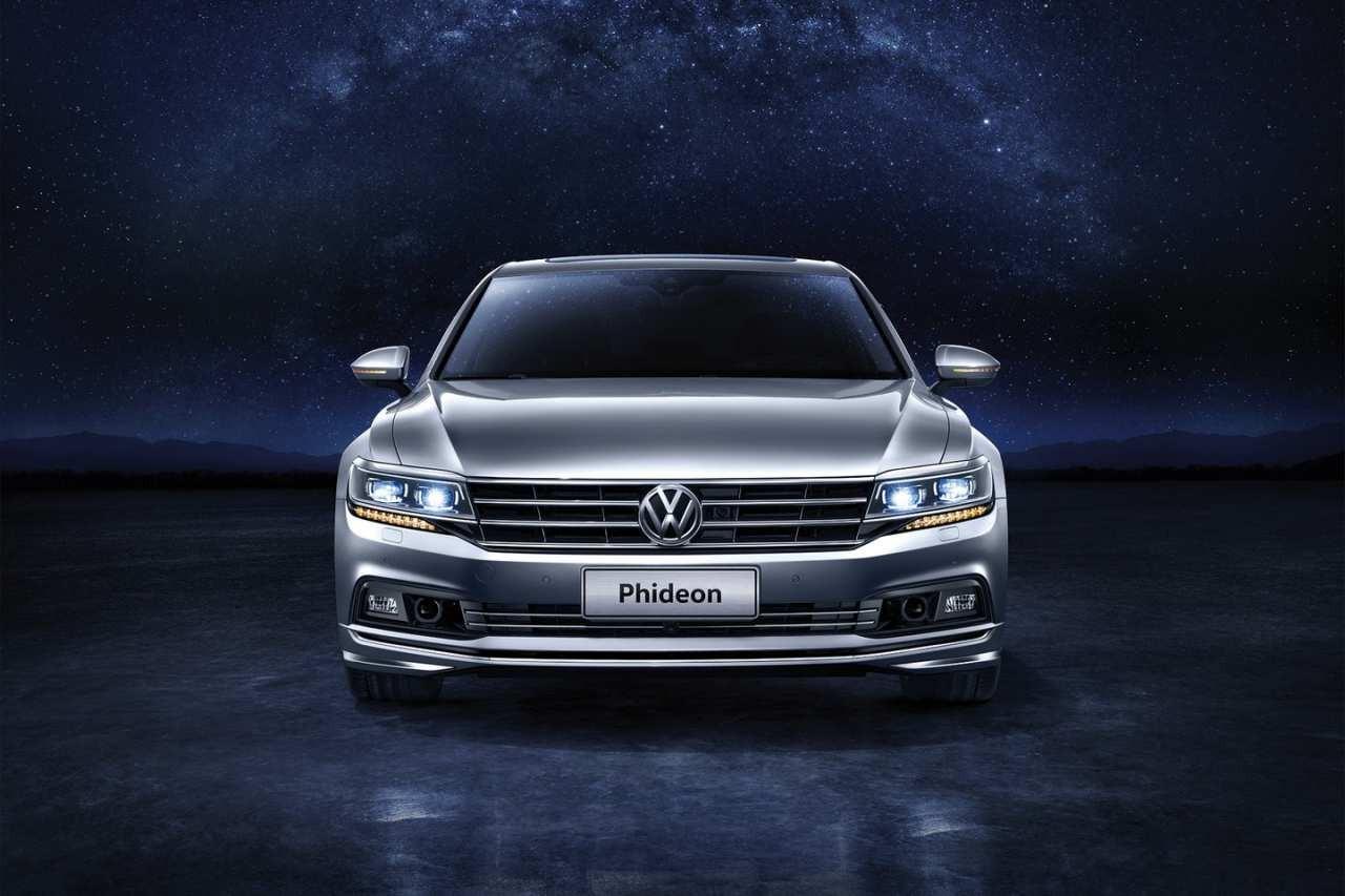 Флагманский седан VW Phideon появился накитайском автомобильном рынке