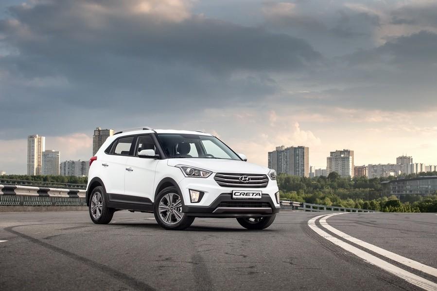 Автостат Кроссовер Hyundai Creta возглавил московского рынка SUV