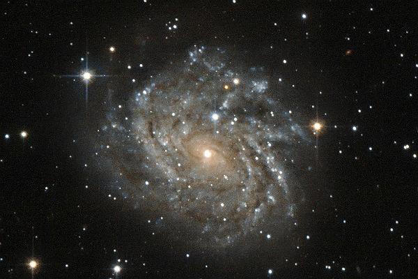 Телескоп «Хаббл» сфотографировал аномально молодые звезды наокраинах Галактики