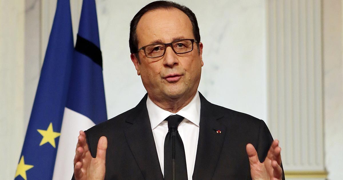 Опрос: только 4% французов довольны деяниями Олланда