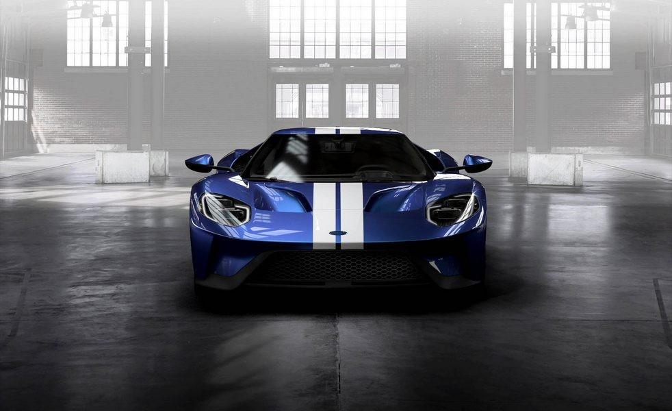 Форд 4 года будет собирать поодному суперкаруGT вдень