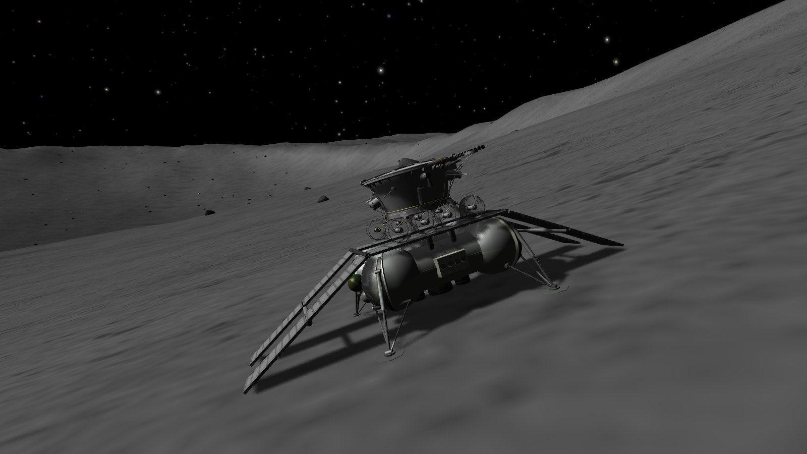 Новый русский луноход исследует Луну в 2020г