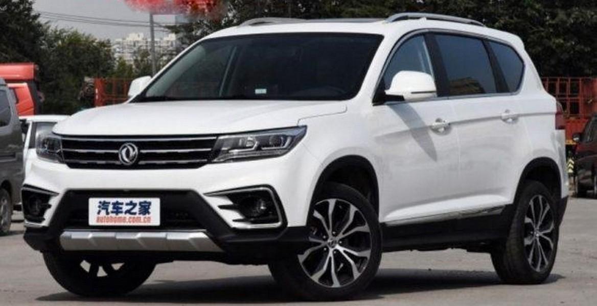 Новый вседорожный автомобиль Dongfeng Fengxing Jingyi X5 «засветился» нафото