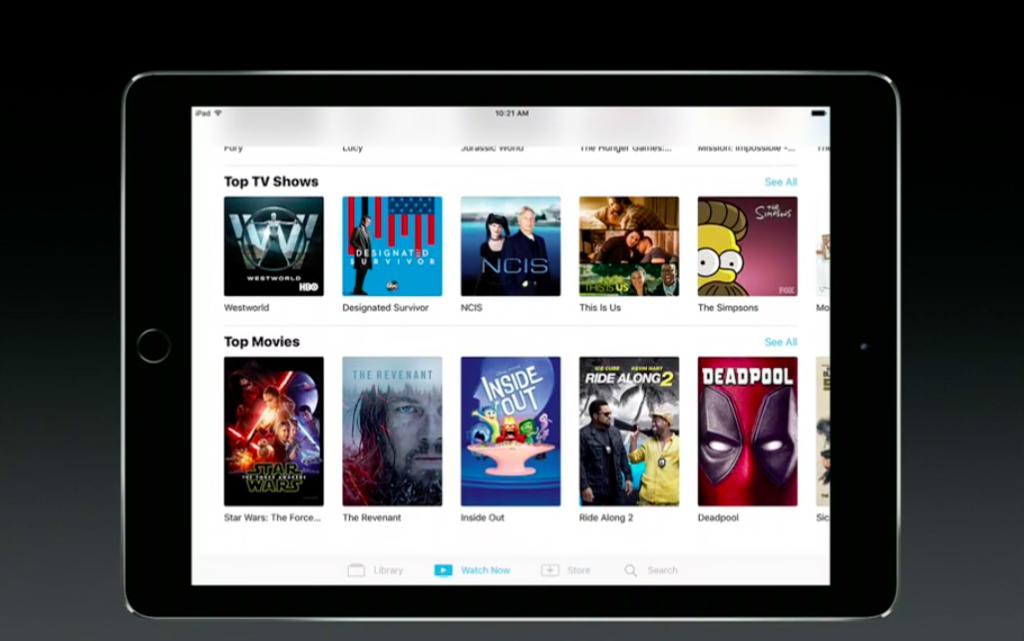 Apple презентовала новое TV-приложение для AppleTV иiOS