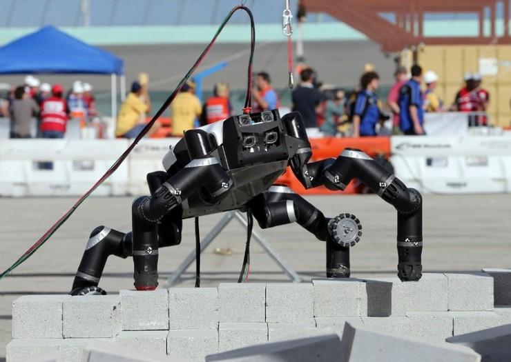 Смерть робота отвзрыва аккумулятора показали навидео