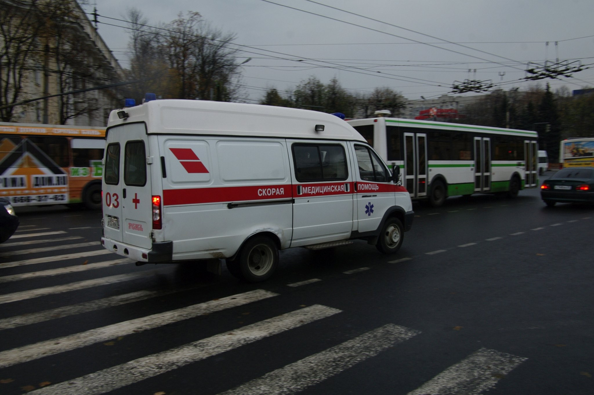 Шофёр автобуса насмерть сбил мужчину напешеходном переходе вАнгарске