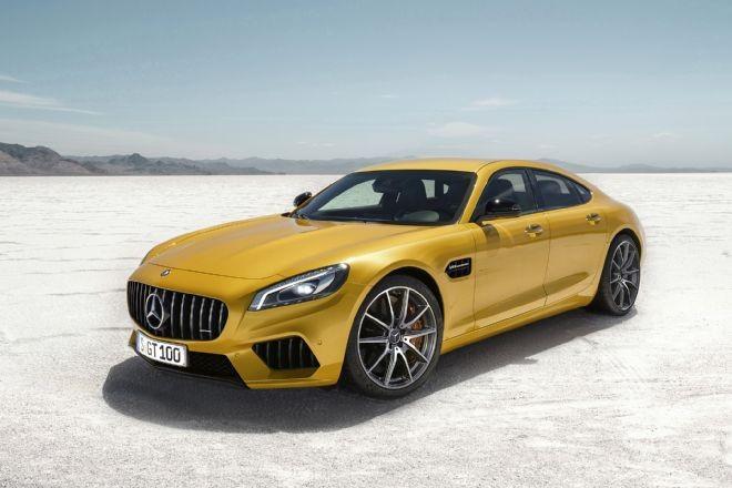 Benz CLS переделают вконкурента Порш Panamera