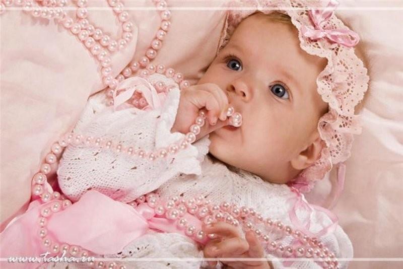 новорожденные фото девочки