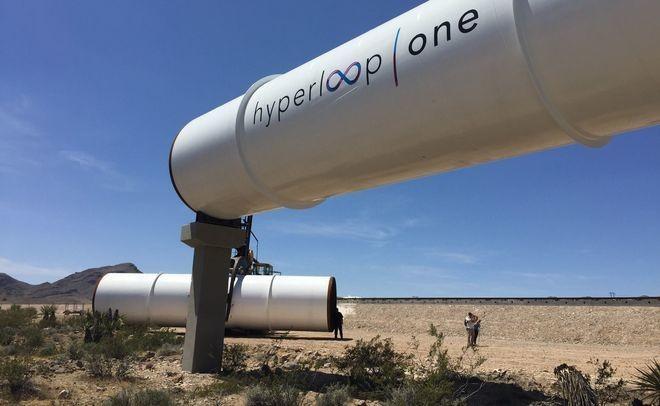 1-ый вакуумный поезд Hyperloop появится вСША в 2020