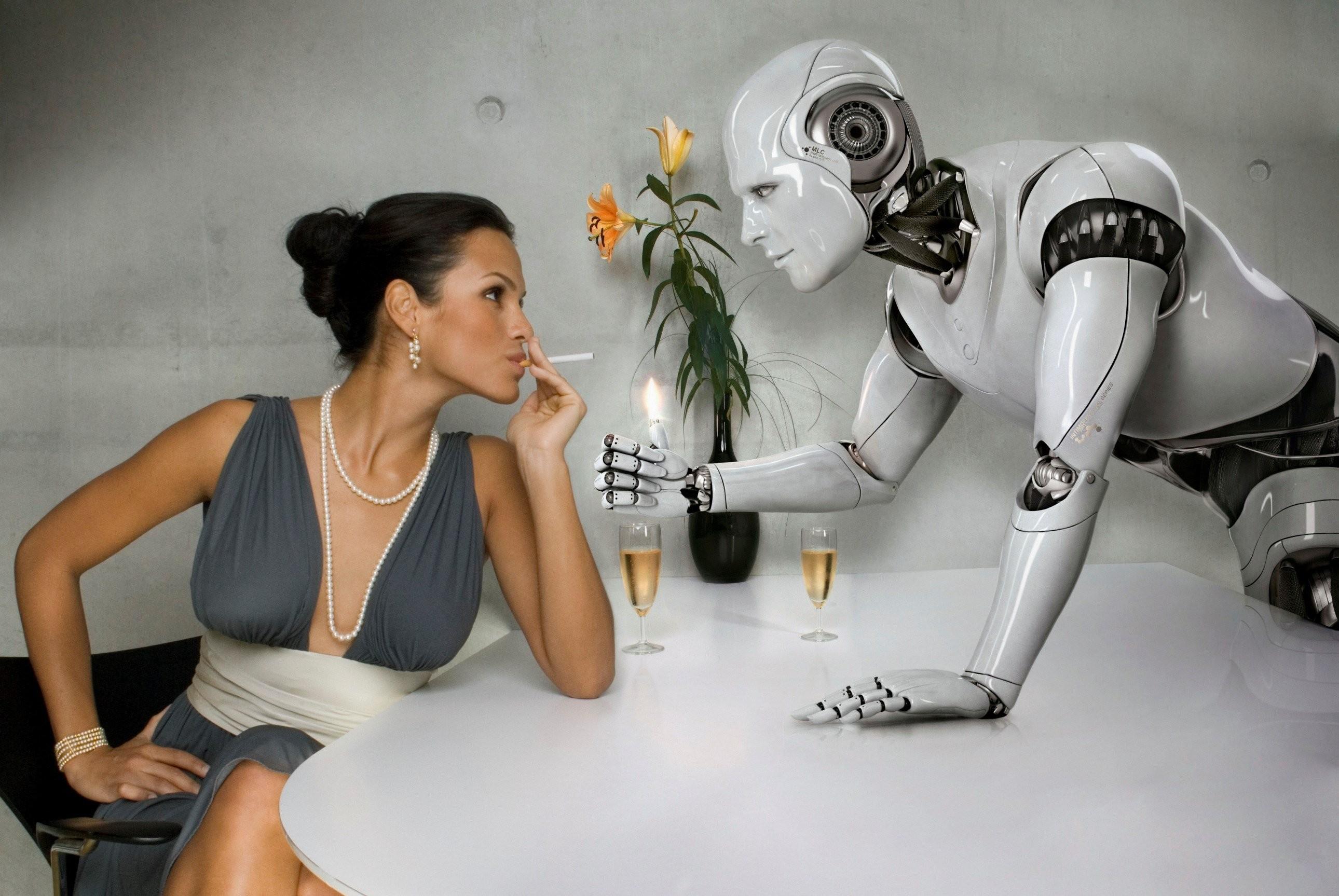 Секс-роботы, заменяющие человека, появятся в следующем году
