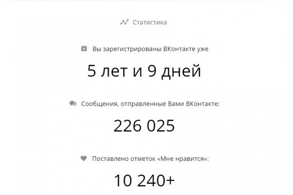 «ВКонтакте» показывает статистику пользователей в честь юбилея