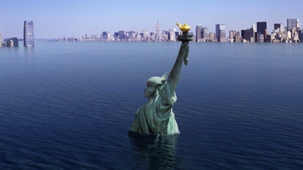 Ученые: Нью-Йорк в 2100 году может уйти под воду